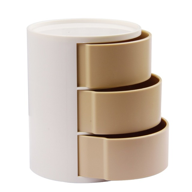 Office Desktop Organizer 3 Layers Paper Clips Holder Small Storage Box For Metal Binder