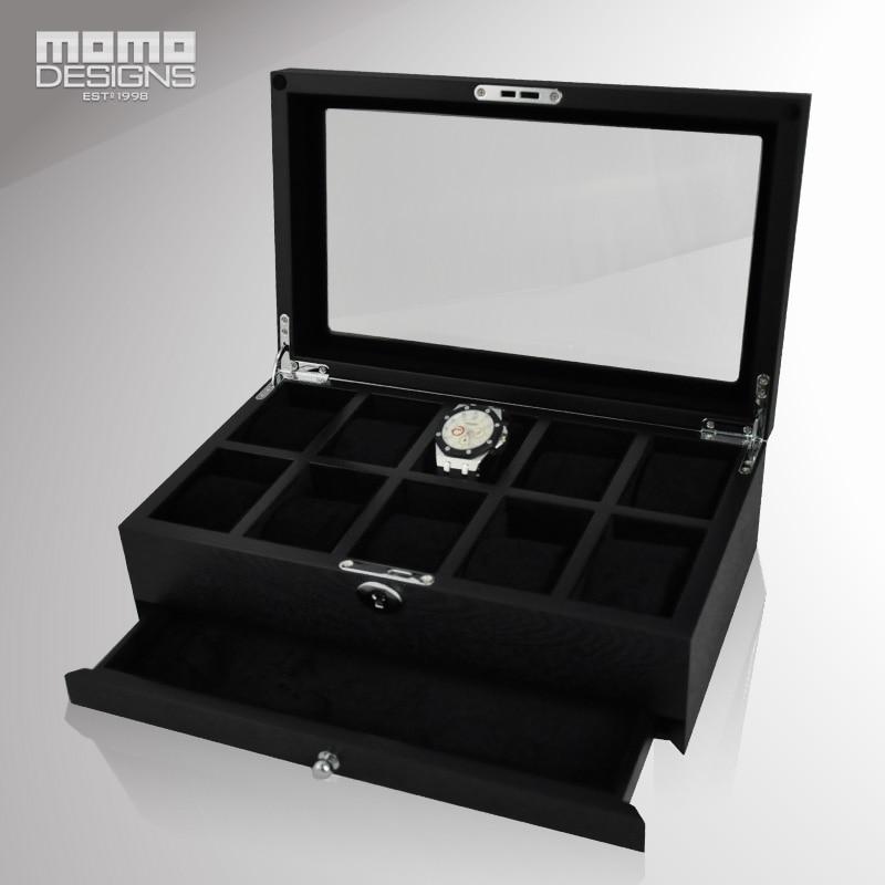 Cutie de ceas din lemn de lux pachet Packagin pentru 10 ceasuri cutie - Accesorii ceasuri - Fotografie 2