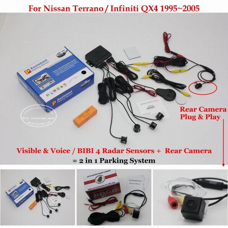 Nissan Terrano Infiniti QX4 1995~2005 parking system