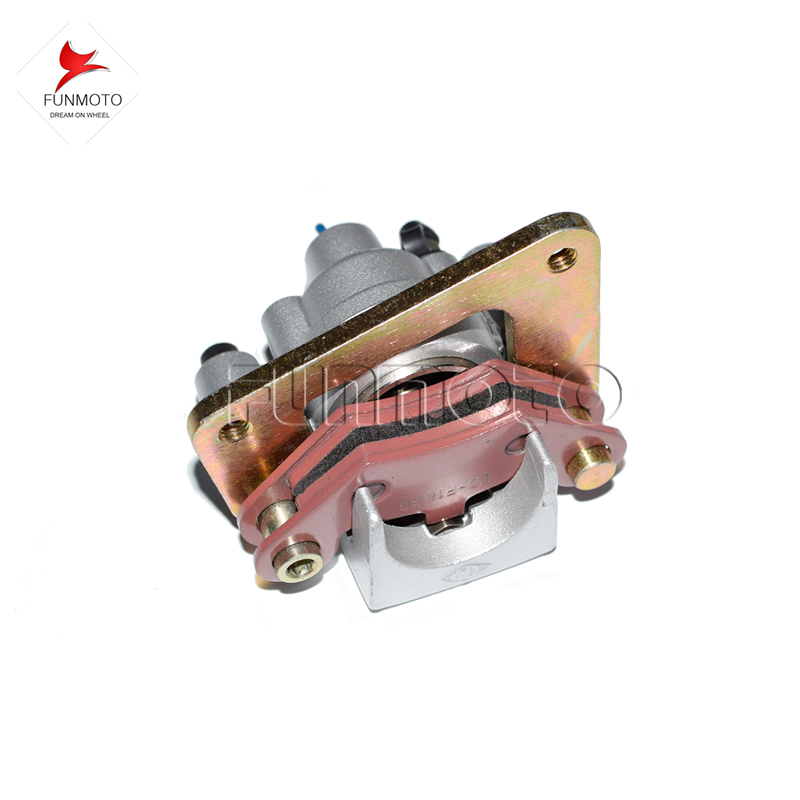 все цены на front right Brake caliper brake shoe of  CFMOTO 500cc ATV/CFX6/CF625  atv  brake system 9010-080800 two color are available онлайн