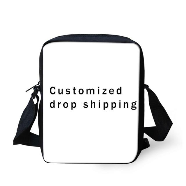 FORUDESIGNS 3D Customized Messenger bags for Teenager Boys Girls Mini  Shoulder bags Children Kids Crossbody bags e434425c6a2e2