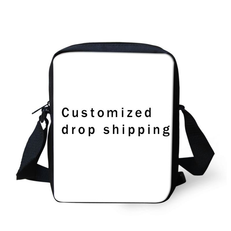 FORUDESIGNS 3D Customized Messenger bags for Teenager Boys Girls Mini Shoulder bags Children Kids Crossbody bags Womens Mens