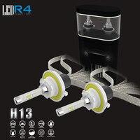 Bateau libre une paire électrique éclairage système R4 H13 3600LM projecteur super lumineux avec 2 pièces ampoules
