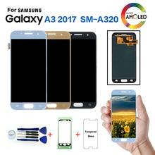 AMOLED для samsung Galaxy A3 a320 SM-A320F ЖК-дисплей экран Замена для samsung SM-A320FL A320Y дисплей ЖК-модуль