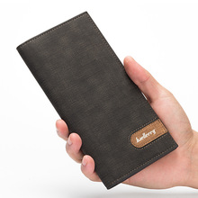 Carteira Masculina Brand Men Wallets Thin Crazy Horse Men Leather Wall