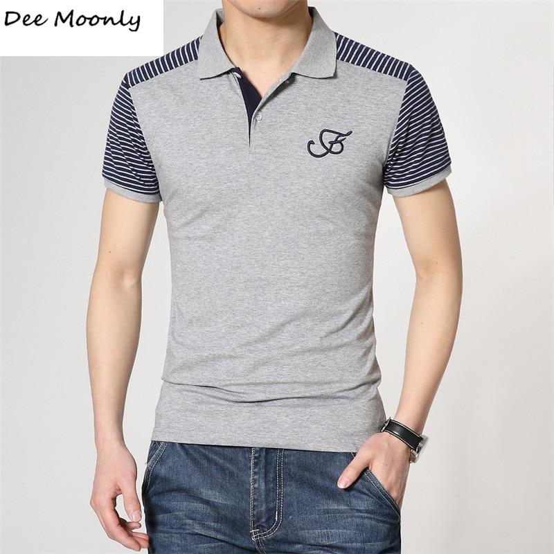 Dee moonly 2017 men 39 s brand polo shirt for men designer for Polo brand polo shirts