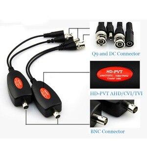 Image 3 - 1 канальная система Power Over Coax для камер видеонаблюдения Ahd/Cvi/Tvi Video + блок питания коаксиальный Hd видео передатчик до 400 м