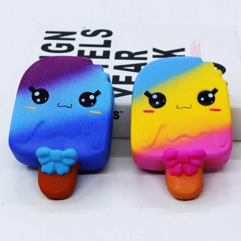 Ice Cream Mole Jumbo Squishies Kawaii Squeeze Lenta Subindo Perfumado Antistress Alívio do Estresse Brinquedos Squish para Crianças Brinquedos Da Novidade