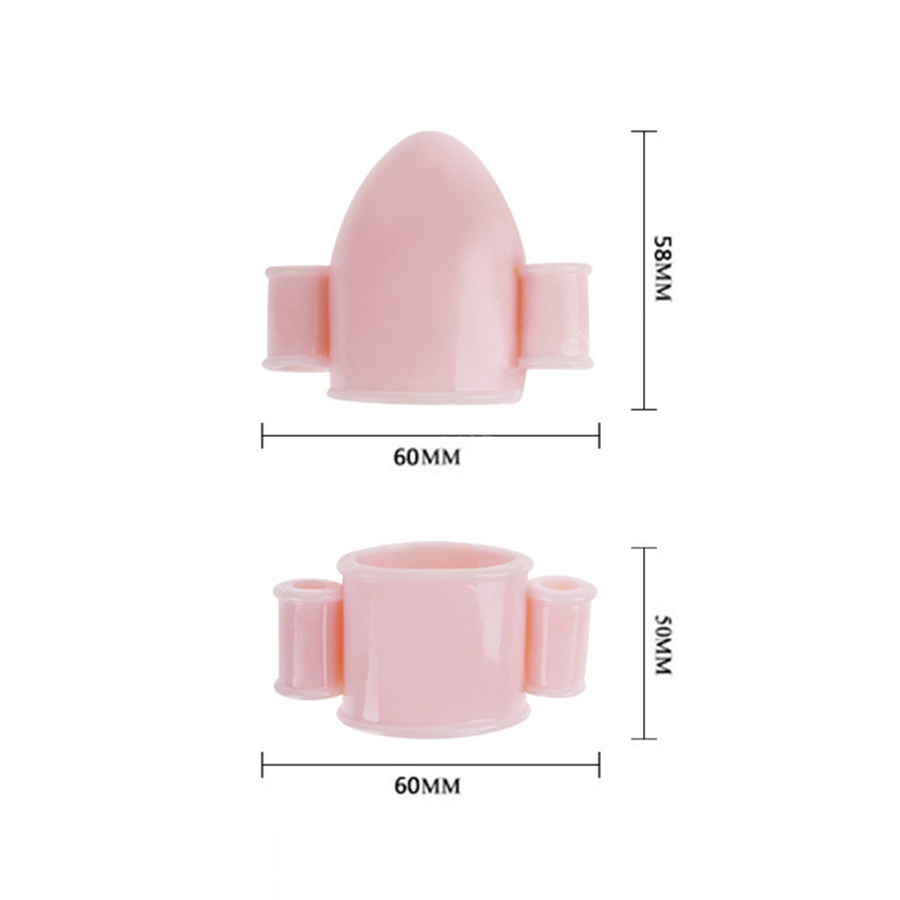 Male Masturbation Vibrator Glans Penis Multi speed Vibration Flexible Caps Penis Stimulation Trainer Exerciser Sex Products in Vibrators from Beauty Health