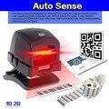 Livre o Navio! Scanner Omni Direcional Scanner 2D QR Scanner de Código de Leitor de Código De Barras USB Desktop de Bilhética Sense Auto Sem Imprensa botão
