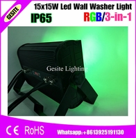 Großhandel 15x15 watt bühne licht led stadt farbe High Power RGB 3 in 1 im freien wasserdichte led city color city colorstage lighting led -