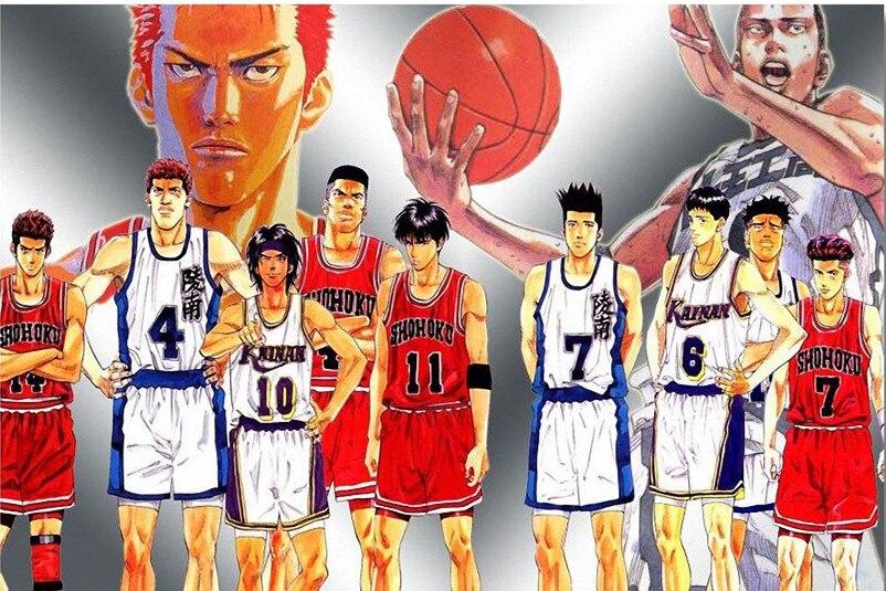 Japan Basketball Anime Wallpaper Custom Slam Dunk Poster