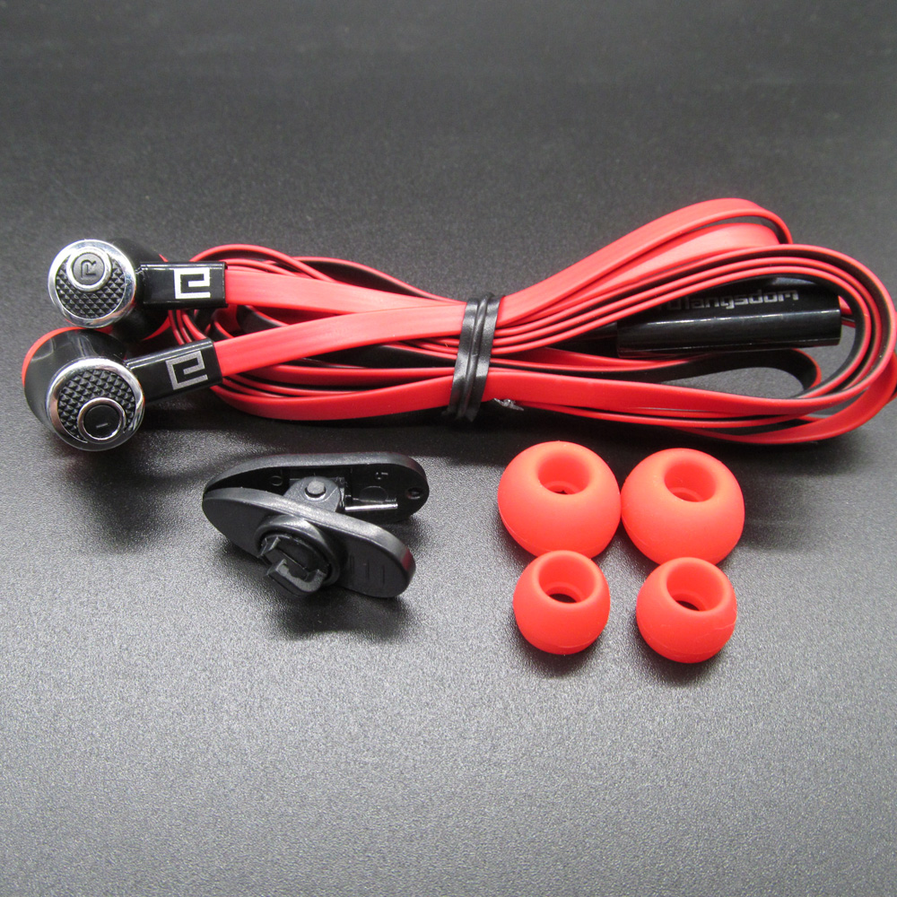 Colorful Earphone Sport 3.5mm Noise Cancelling Earphones Headset with MIC For iPhone Xiaomi Computer mp3 Player Mobile Phone