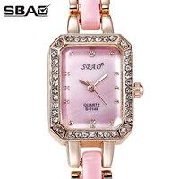 Women Luxury Bracelet Watch Fashion Brand Rose Gold Quartz WristWatches Ladies Dress Sport Watch Clock