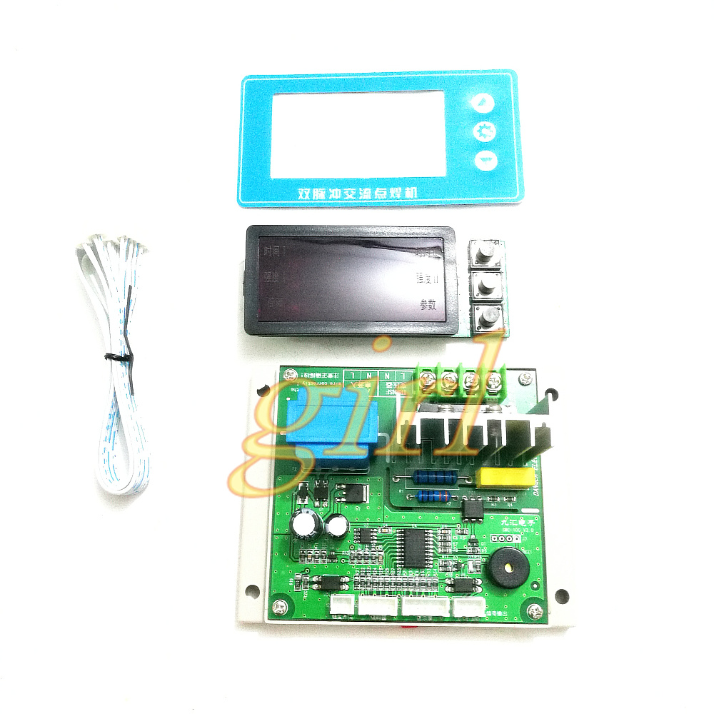 Accessories & Parts Sincere Ny-d04 Diy Spot Welding Machine Transformer Controller Control Panel Board Adjust Time Current Digital Display Buzzer Led Pulse Audio & Video Replacement Parts