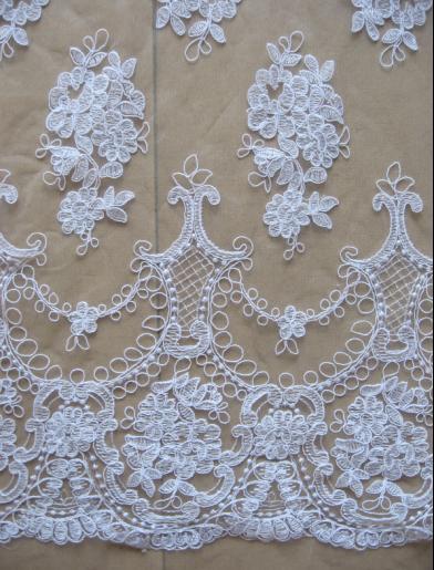 Buy 2016 september latest ivory wedding for Wedding dress fabric store