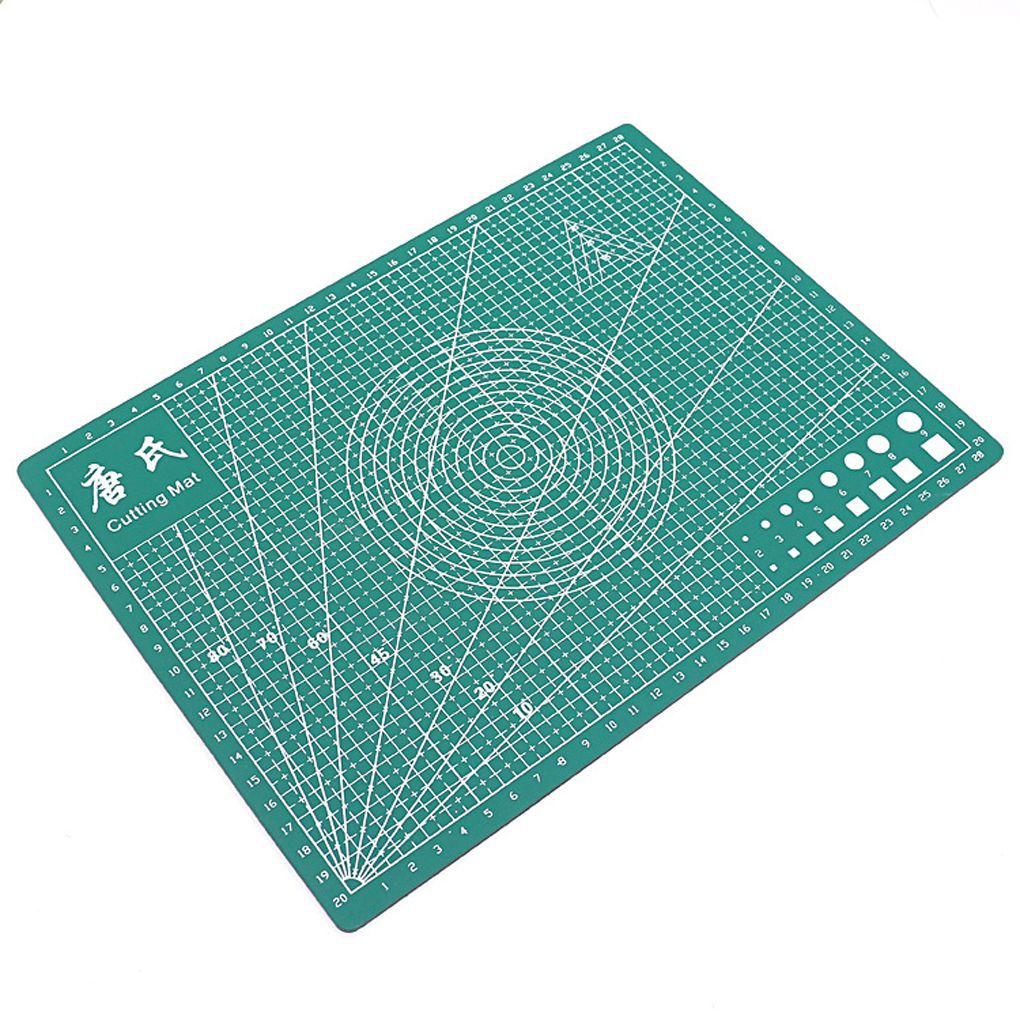 a4 pvc rectangle grid lines self healing cutting mat tool fabric leather paper craft diy tools - Self Healing Cutting Mat