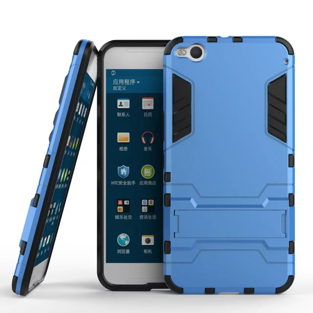 classic fit d4368 9f420 US $3.49  For HTC One X9 Heavy Duty 3D Shield Back Cover Silicone Hybrid  ShockProof Protection Case For HTC One X 9 Fold Stand Holder Case on ...