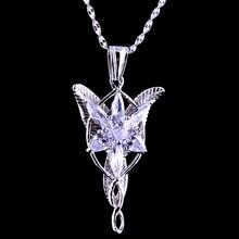 Pendentifs en argent, LOTR S925, bijoux argentés, de haute qualité, Arwen Evenstar, cadeau de saint valentin, pour petite amie, fille