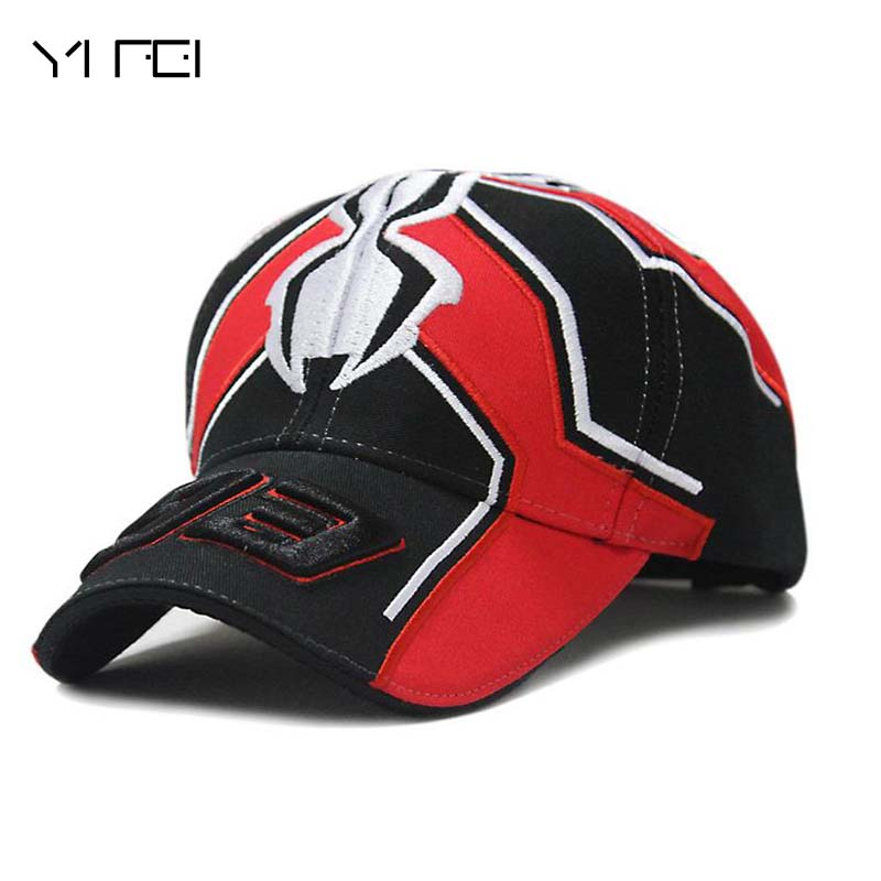 Racing Cap Season 93 Driver Lorenzo Signature Motorcycle Hat Ants Baseball Cap Men Women Spider Outdoor Riding Sports Cap