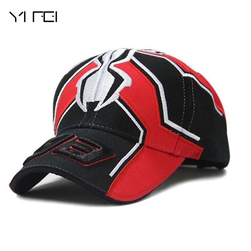 Racing Cap Season 93 Driver Lorenzo Signature Motorcycle Hat Ants Baseball Cap Men Women Spider Outdoor Riding Sports Cap
