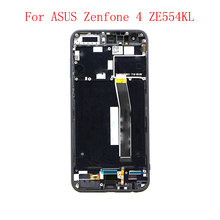 JPFix для ASUS Zenfone 4 ZE554KL Z01KD ЖК-дисплей сенсорный дигитайзер экран в сборе с рамкой и царапинами