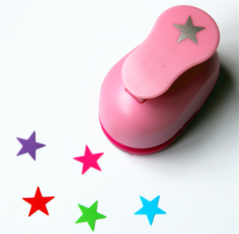 Free Ship 3/8'' 1cm Star Scrapbooking Punches Craft Perfurador Paper Punch For Kids Furador Diy Puncher Cutter W31756