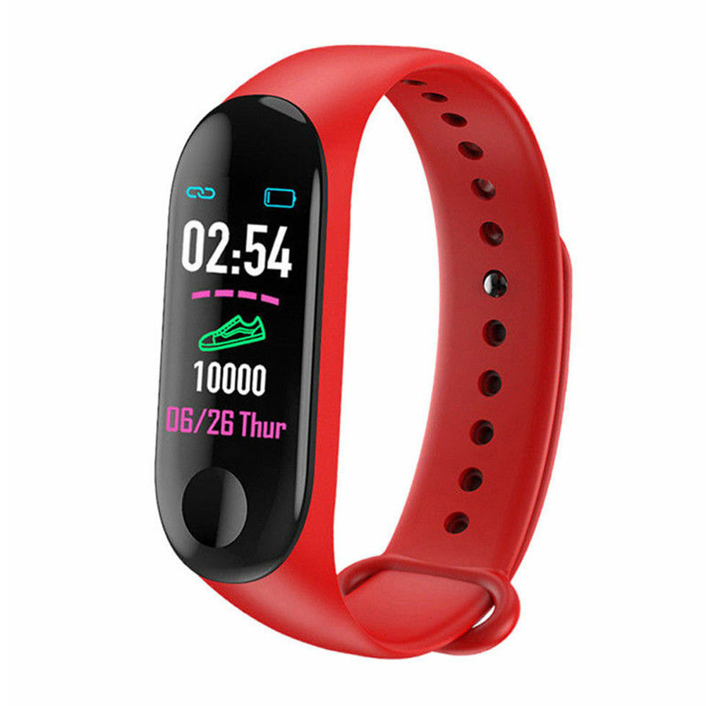 Heart Rate Monitor Health Smart Wristband Outdoor Multifunctional Fitness Tracker Message Watch Blood Pressure Sports Waterproof