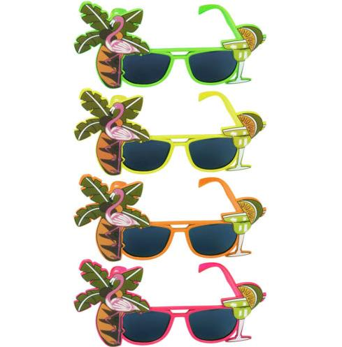 Funny Novelty Hawaii Party Dress Costume ananas Lunettes De Soleil Eye Glasses