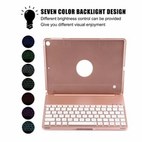 Fashion Aluminum Alloy Keyboard Case For IPad 9 7 2017 For IPad Air 1 Ultra Slim