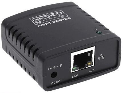 все цены на  60PCS/Lot New USB 2.0 LPR Printer Print Server Hub Adapter Ethernet LAN Networking Share  онлайн