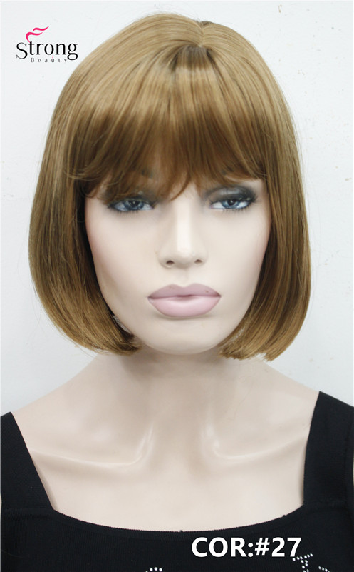 Synthetic Wigs Synthetic None-lacewigs Diligent Bob Wig Fei-show Synthetic Heat Resistant Short Wavy Hair Peruca Pelucas Costume Cartoon Role Cos-play Blonde Fringe Hairpiece