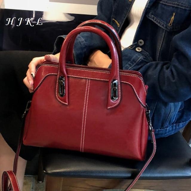 Tendência nova costura geninus Europeus e Americanos estilo bolsa de couro bolsa de ombro moda feminina
