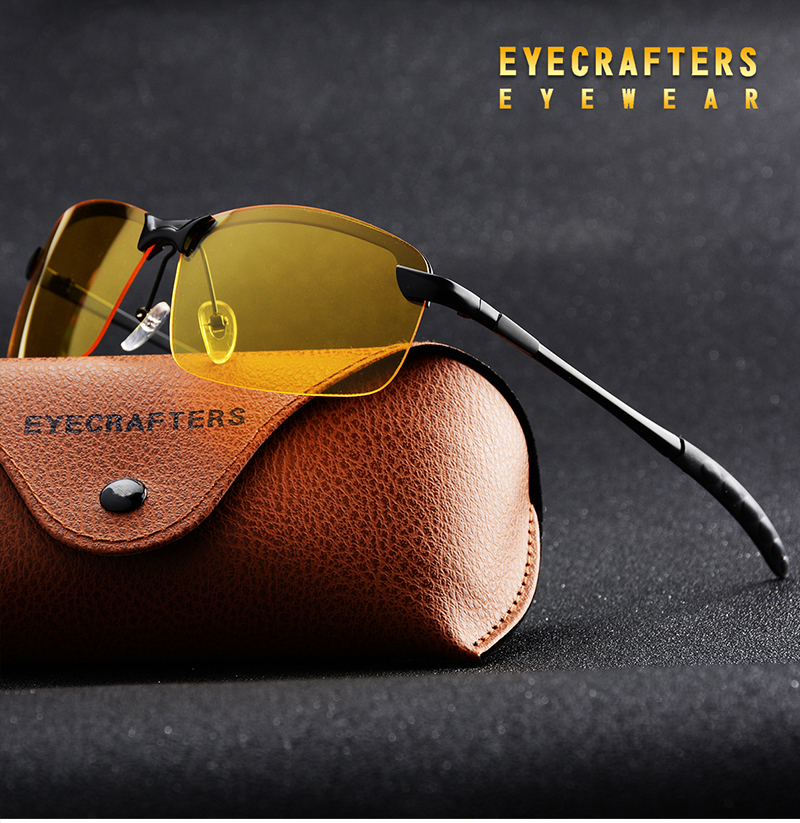 Best Deal #75b8 Eyecrafters Mens Rimless Polarized