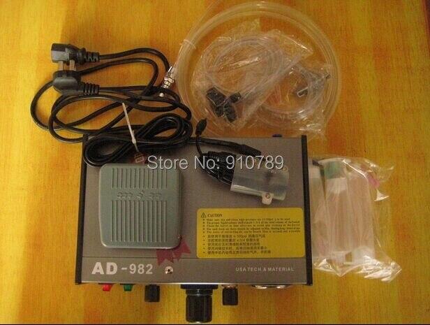 SZBFT Semi-Auto Glue Dispenser Solder Paste Liquid Controller Dropper PCB Solder Paste Fluid dispenser klt 982a solder paste glue dropper liquid auto dispenser controller black