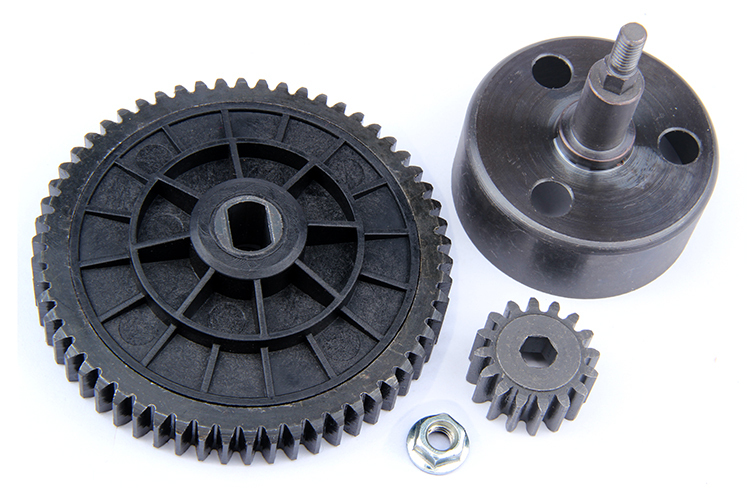 R/C racing car parts,NEW- Clutch Bell and 58T/16T High Speed Metal Gear Set for 1/5th RC Gas Model Car/for baja durable rc car defender frame set for