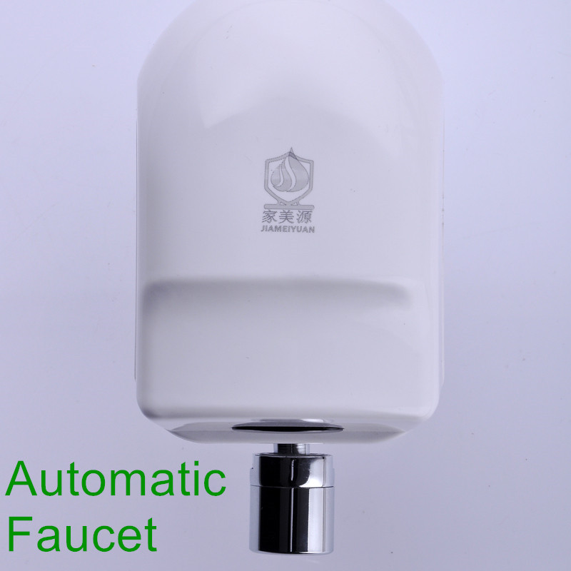 Wall Mounted Automatic Sensor Kitchen Faucet Single Cold