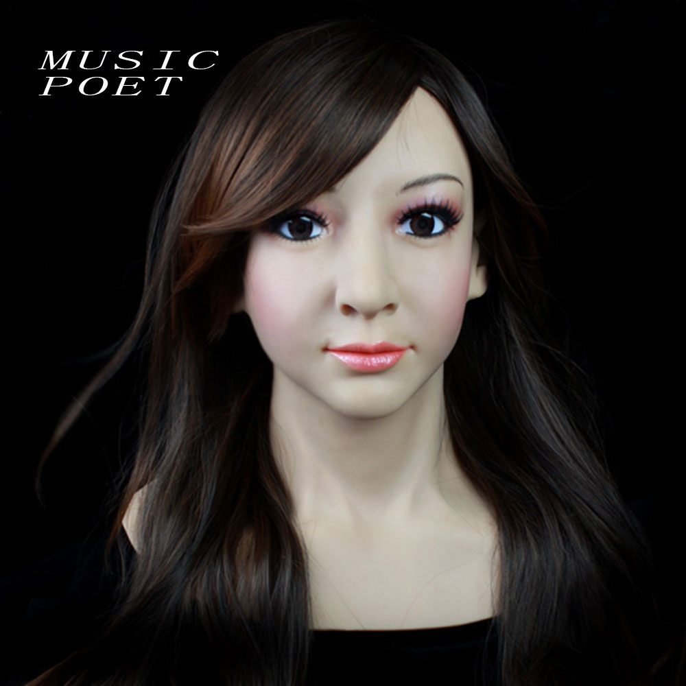 Popular Women Silicone Mask-Buy Cheap Women Silicone Mask lots ...