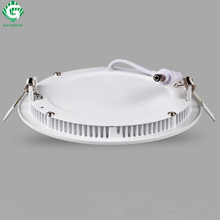 LED Panel Lights Ceiling Round Recessed Lamp Aluminum Ultra Thin Downlights 3W 4W 6W 9W 12W 15W 18W 24W Spotlight Light Fixtures