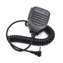 2.5mm Speaker Microphone PTT Mic for Motorola Talkabout Radio Walkie Talkie TLKR T5 T7 T80 T60 MH230R XTR446 MB140R(China)