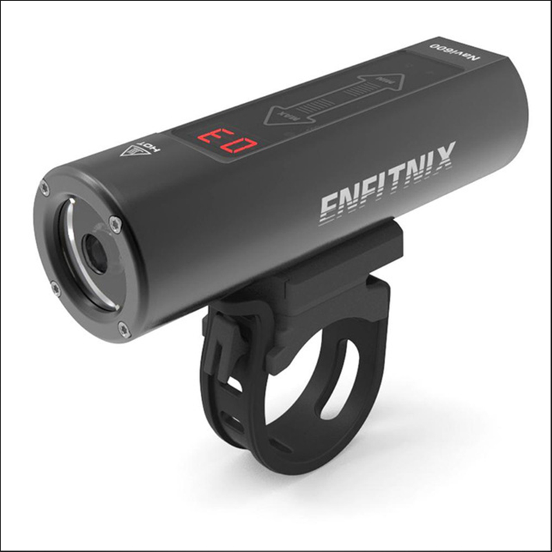 2019 New Light Smart Headlights Enfitnix Navi600 USB Rechargeable Road Mountain Bike Smart Headlights for Bicycle