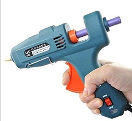 MultiUse Blue Wedding Invitation Wax Seal Sealing Stamp Sticks Glue Gun Repair Tool Hand Crafts 60/100W