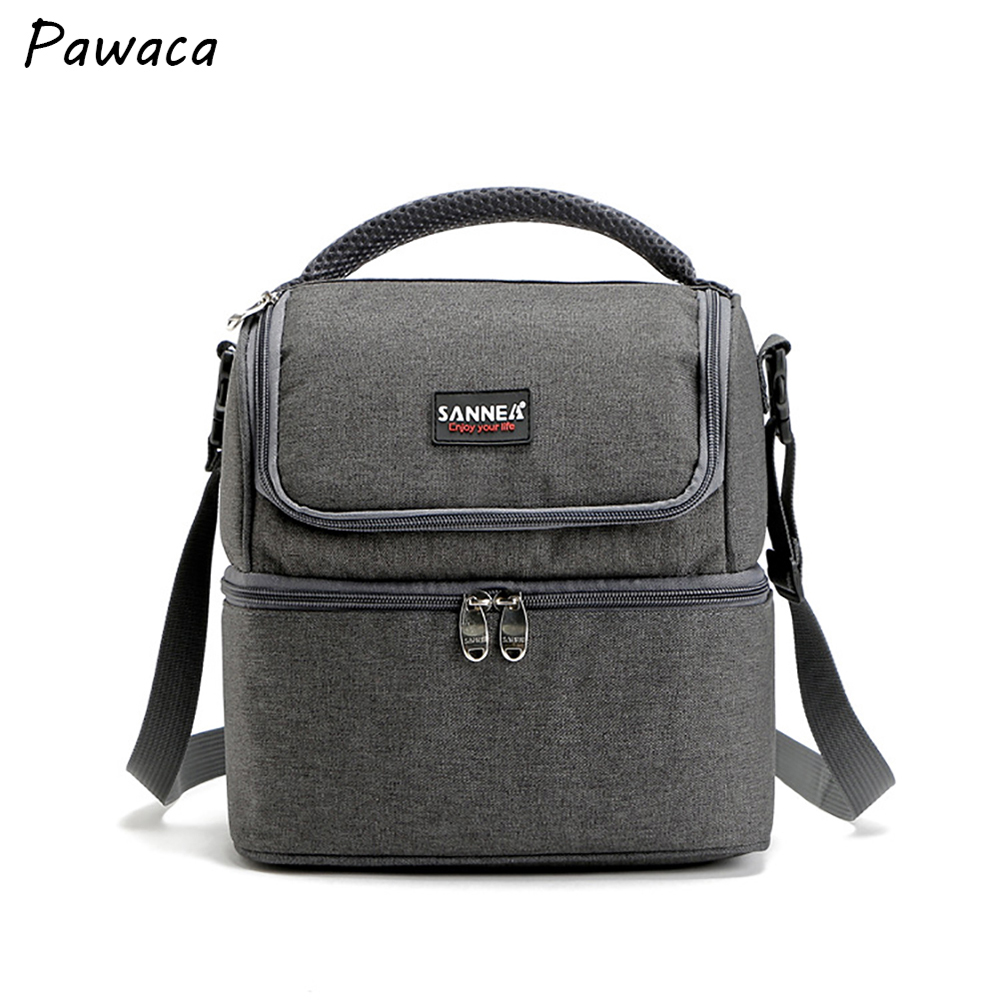 new fashion picnic thermal bag good quality Oxford cloth insulated lunch bag box for kids men and women cooler thermo food bags large jeans oxford new zealand flag lunch bag for women thermal cooler bag shoulder lunch bag food picnic box ice aluminum bag