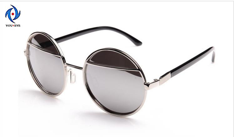 b975d544a Brand Women Sunglasses Round Shape Metal Sunglasses Women Men Fashion  Glasses Googles 2015 New Travel Eyewear&Accessories-in Sunglasses from  Apparel ...