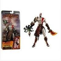 Neca God of War II Kratos Vello D'oro Armatura Medusa Figura 7
