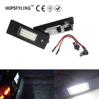 2x 18SMD Led License Plate Light For Fiat Croma Grande Punto Linea Marea Punto Alfa Remeo