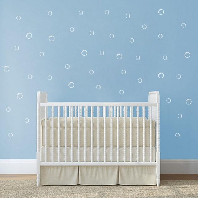DIY Bubble Wall Sticker Cute Pattern Art Vinyl Wall Decals ...