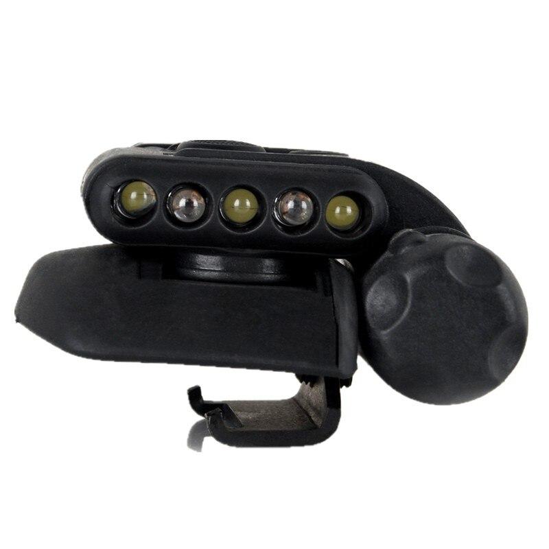 Tactical HELMET LIGHT helmet lamp SET GEN 2 white LED with IR black DE