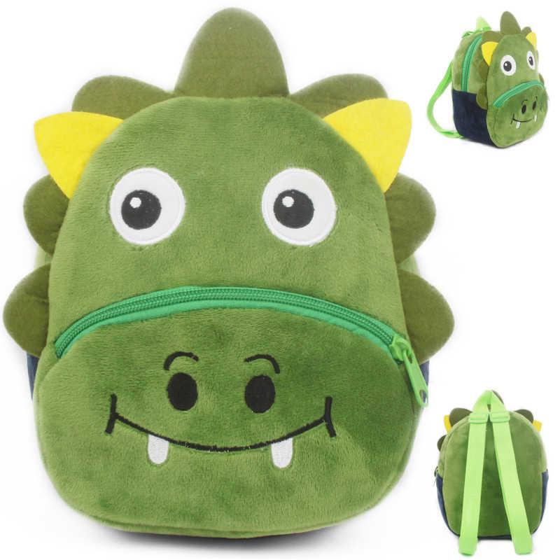 Kids Plush Backpack Cute Cartoon Zoo Animals School Bag Kindergarten Baby Panda Rabbit Unicorn Plush Bag for Boys Girls Bag Toy