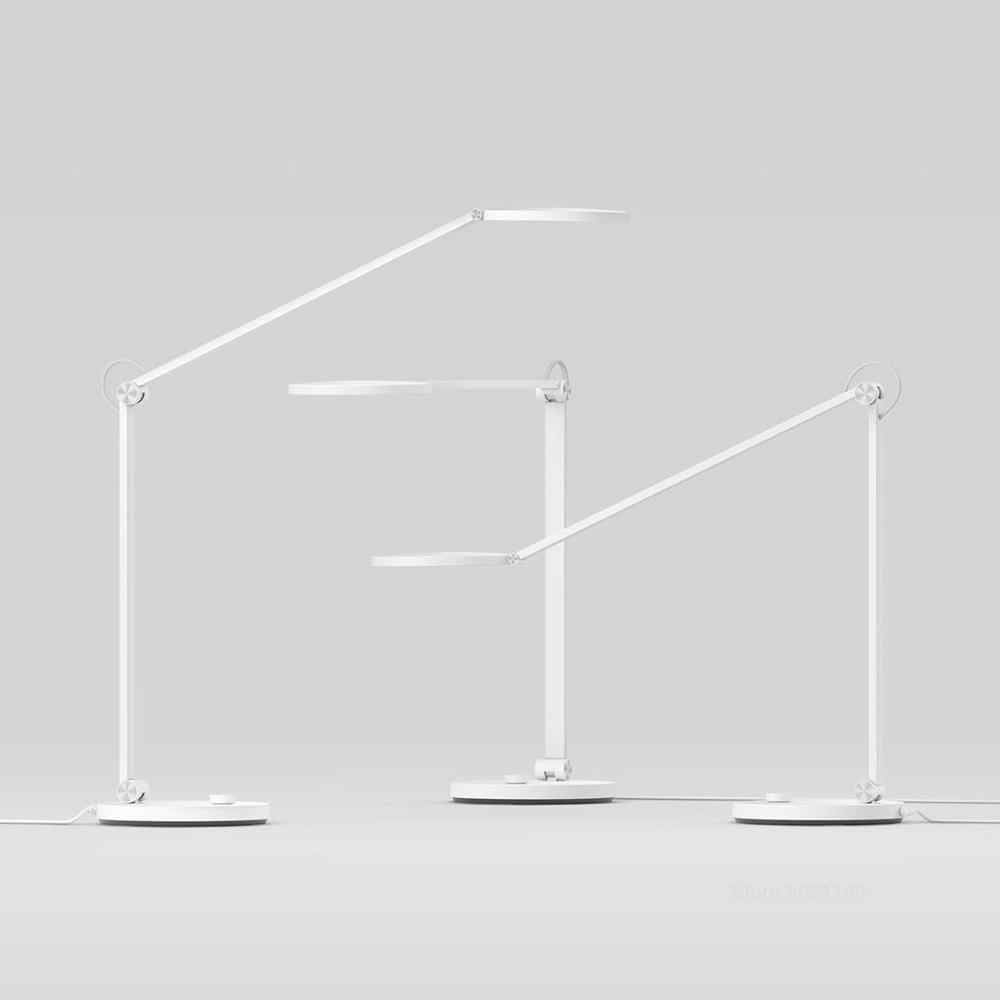 Xiaomi Mijia Mi Lampu Meja Pro LED Smart Membaca Lampu Meja Kantor Mahasiswa Table Light Bending Lipat Bedside Night Light mihome Aplikasi